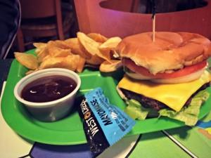 Knuk n Futz Cheeseburger Kids Meal