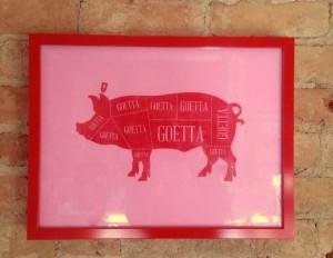 Pink Geotta Print 75 Mica 12v