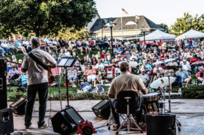Groovin' on the Green summer concerts at Village Green Park